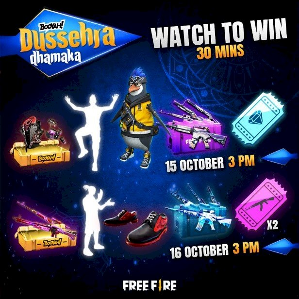 Garena announces Dussehra Dhamaka, an all-new festive Free Fire tournament on BOOYAH!